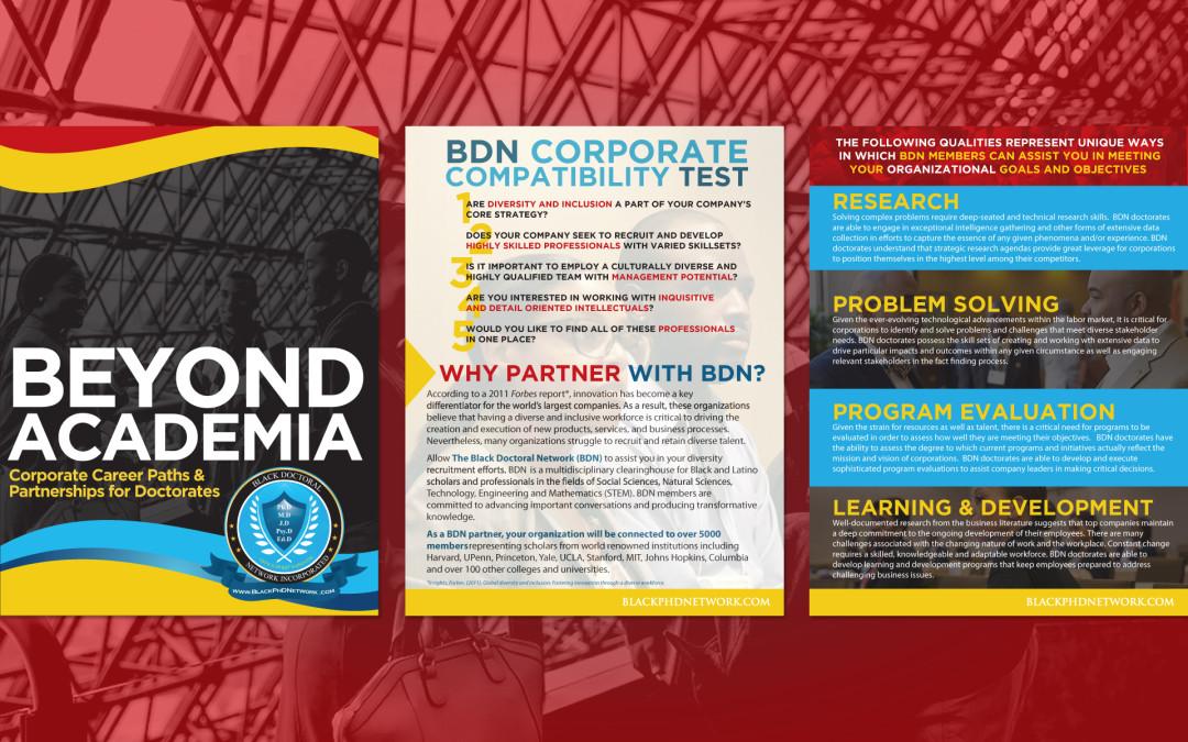 Black Doctoral Network  Brochure