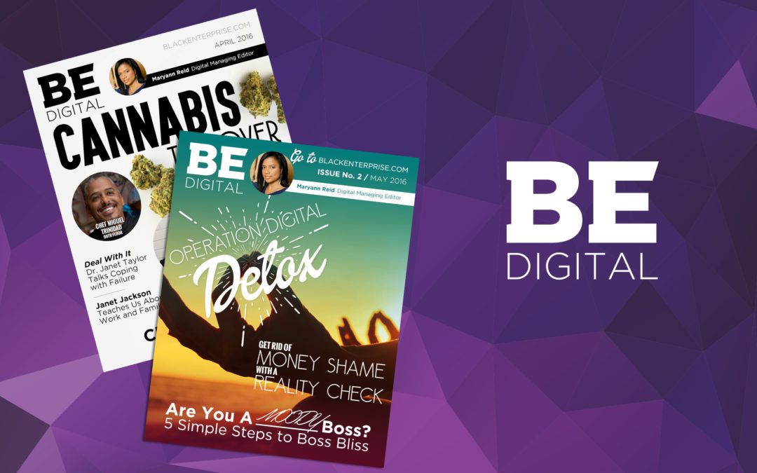 BE Digital Covers 2016