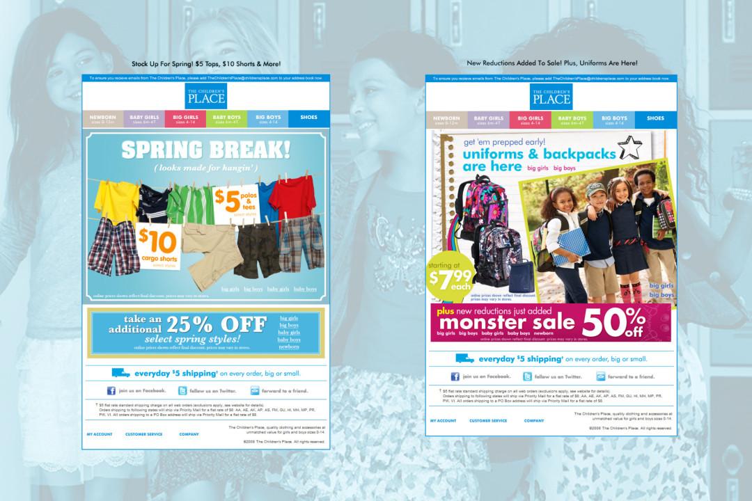 Children's Place e-Newsletter