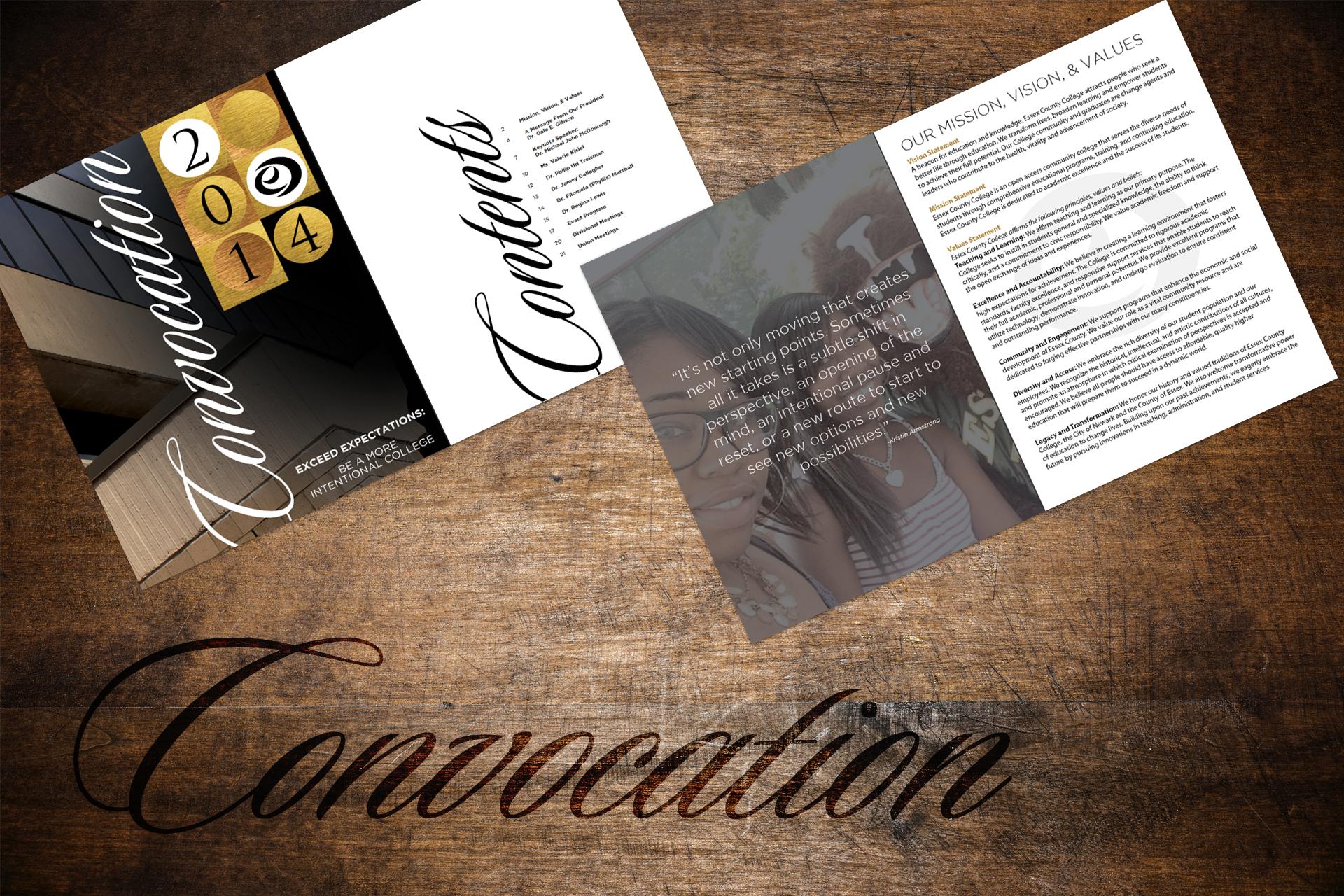 Convocation 2014 – Event Program