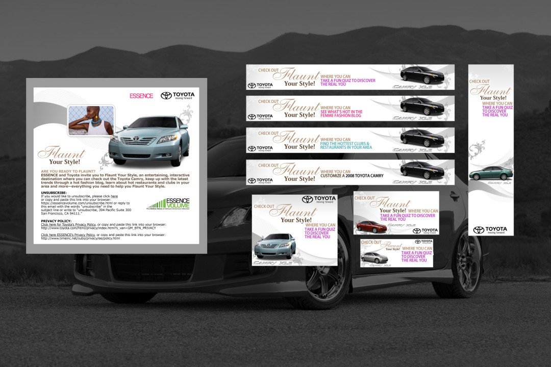 Essence Toyota Campaign